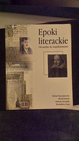 dla maturzystów książka podręcznik Epoki literackie od antyku do...