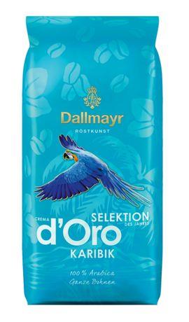 Dallmayr Crema d'Oro Karibik, карибский кофе в зернах 1 кг, Германия