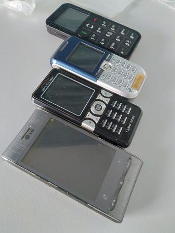 Telefon komórkowy 2 Sony, LG, myPhone