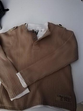 Sweterek elegancki święta rozm. 110/116.