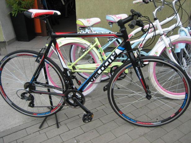 VELOCITY - ALU, Made in Germany,bardzo lekki rower szosowo-trekkingowy
