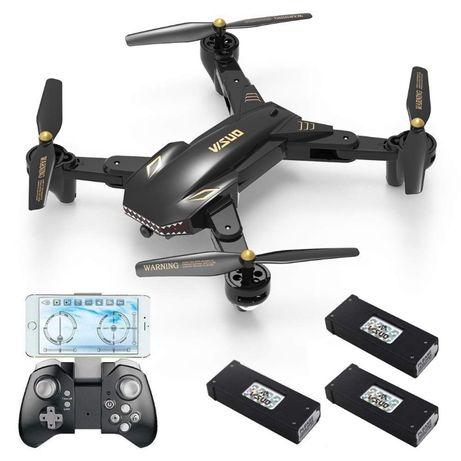 Drone dobrável WiFi com Câmera 2MP FPV