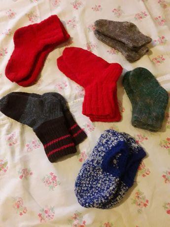 Носки шерстяные от5 до 8 лет