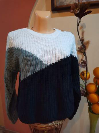 Sweter sweterek oversize Sinsay M nowy