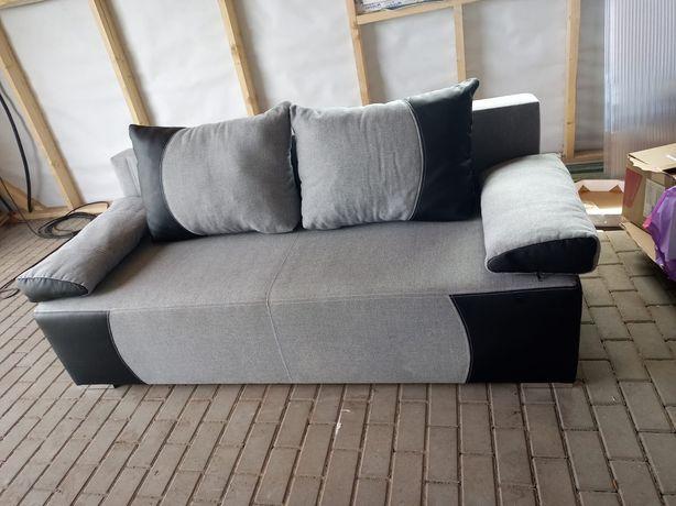 Piękna szara sofa, z funkcją spania  , w bardzo dobrym stanie, polecam