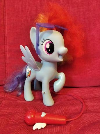 My Little Pony, śpiewająca Rainbow Dash