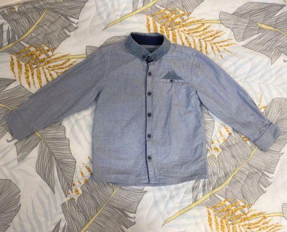 Детская красивая нарядная рубашка для мальчика Matalan на 3-4 г