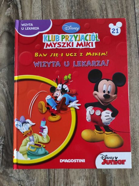 Książka, Miki, Disney