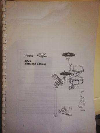 Roland TD-9 instrukcja obsługi