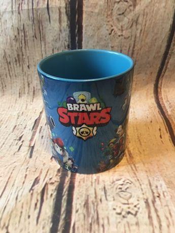 Чашка Бравл Старс, герои игры Brawl Stars