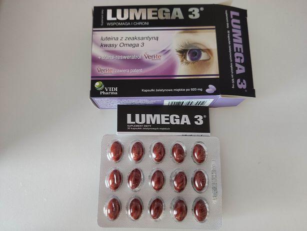 Lumega3 luteina+ cynk+ trans-resweratrol