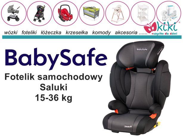 Fotelik samochodowy BabySafe Saluki 15-36 kg