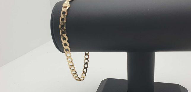 Złota bransoletka PANCERKA 8,74g 585