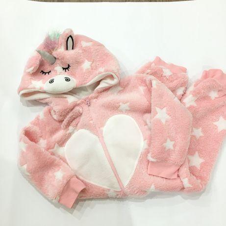 Кигуруми единорог 86 слип 12\18 пижама Primark HM Next єдиноріг піжама