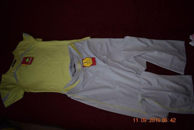strój sportowy koszulka + spodnie