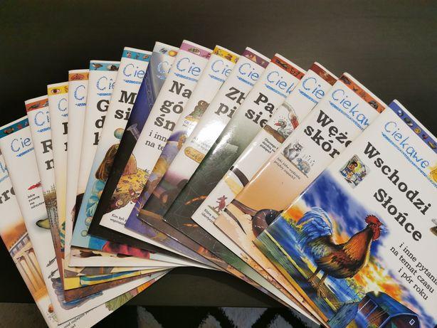 """""""Ciekawe dlaczego"""" seria książek dla dzieci ciekawych świata"""