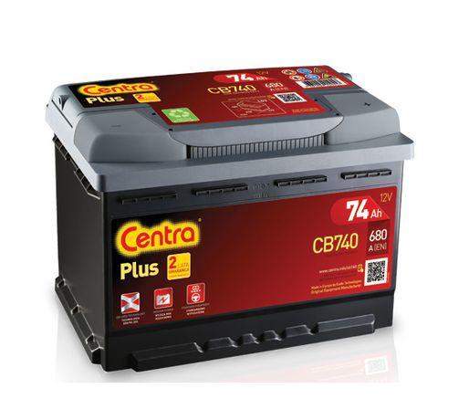 Akumulator CENTRA PLUS 74H 680A Regenerowany 2 miesiace gwarancji