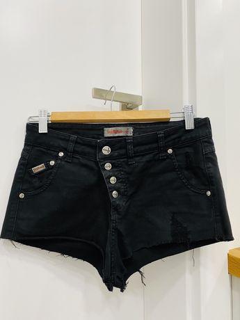 Włoskie spodenki shorty Sexy women ,czarne