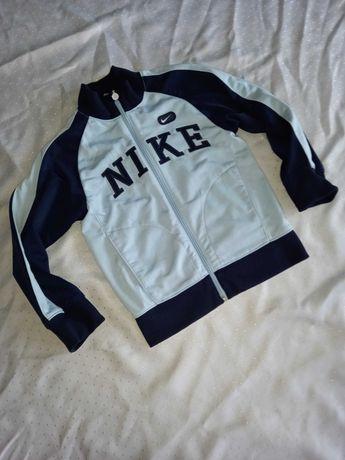 Nike świetna bluza na zamek 116/122