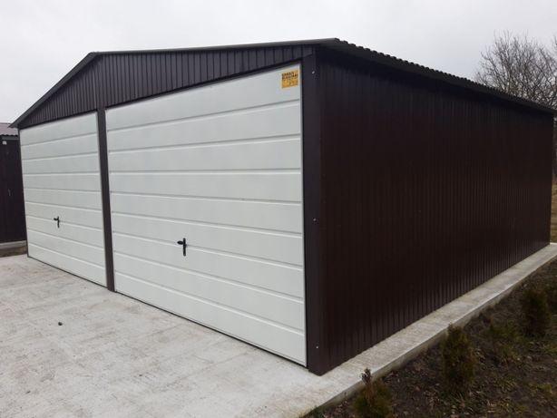Garaże Garaż Blaszany Blaszak Blaszane 6x5 bramy podnoszone
