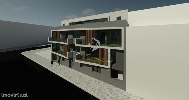 Apartamento T2 Novo c/ Terraço no Centro da Cidade