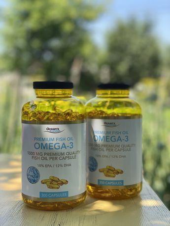 Вітаміни OMEGA-3. Риб'ячий жир