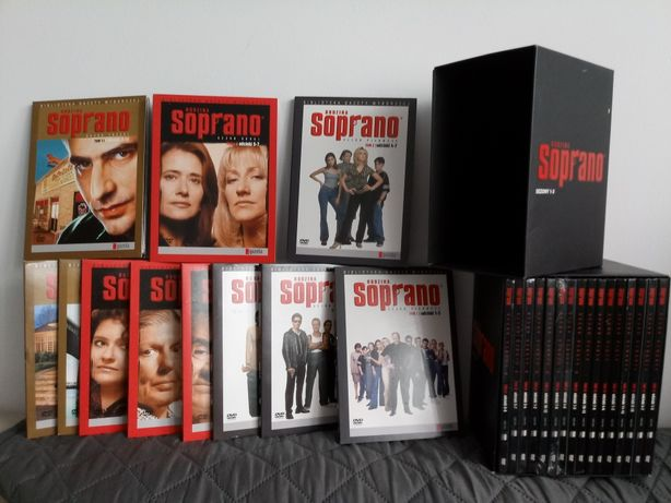 Kolekcja Rodzina Soprano - kultowy serial na dvd