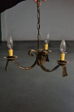 Dois candeeiros iluminação para teto