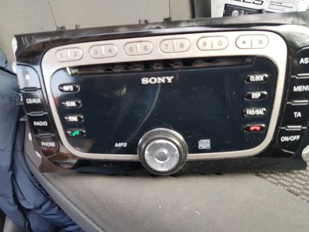 Radio CD Sony Ford S-Max Mondeo Focus C-Max