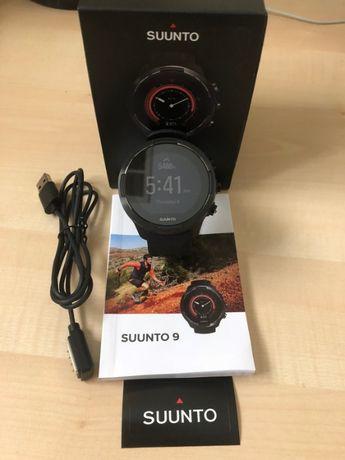 Relógio GPS Smartwatch SUUNTO 9 BARO black - NOVO