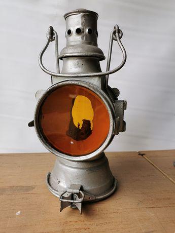 Stara lampa PKP zabytkowa
