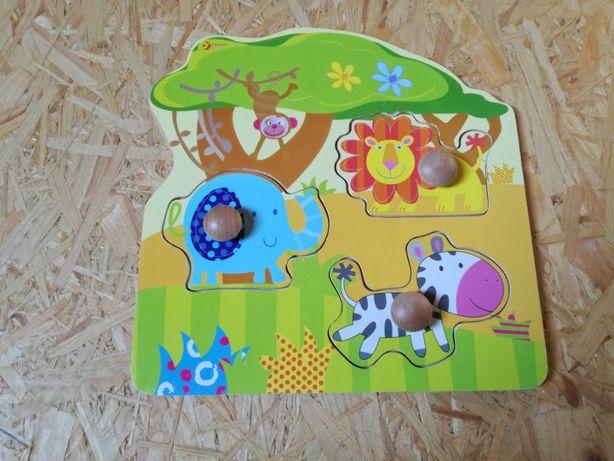 Sprzedam puzzle dla dzieci 3 szt.