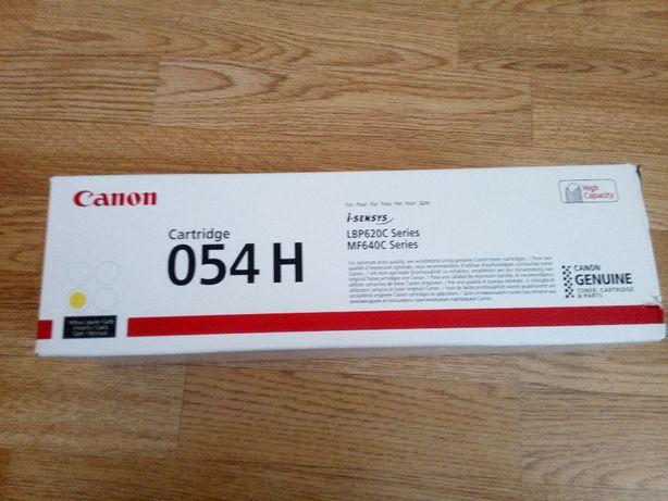 Картридж Canon 054H Yellow 2.3K