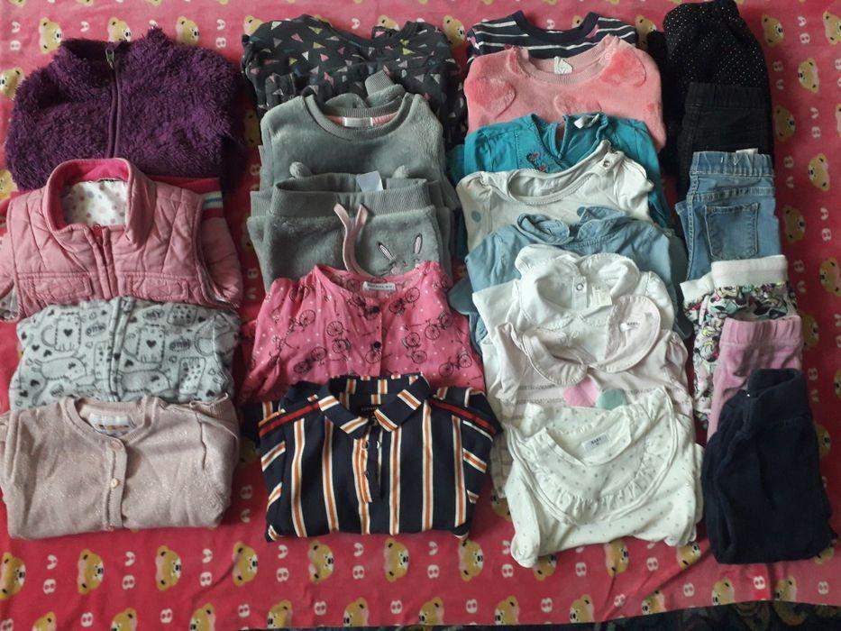 Paka firmowych ubrań dla dziewczynki rozm.92 Łask - image 1