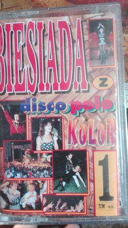 Biesiada z disco polo Kolor Kaseta magnetofonowa
