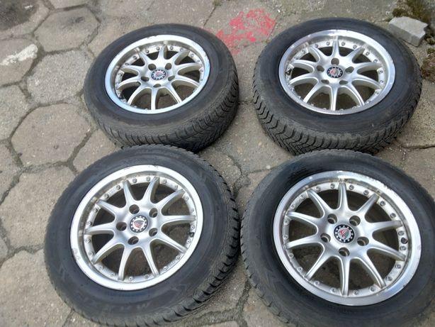 4 felgi 5x112 Mercedes Audi Vw Seat Skoda 15 cali cena za 4szt
