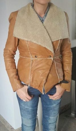 Sprzedam kurtkę ze SKÓRY Vero Moda