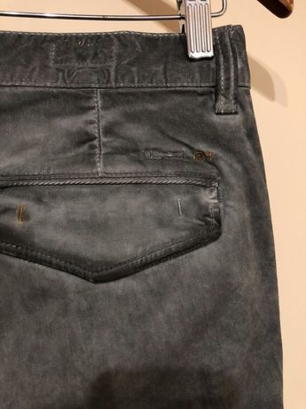 Spodnie chinosy North34 M L TKmaxx hit unikat retro vintage washed