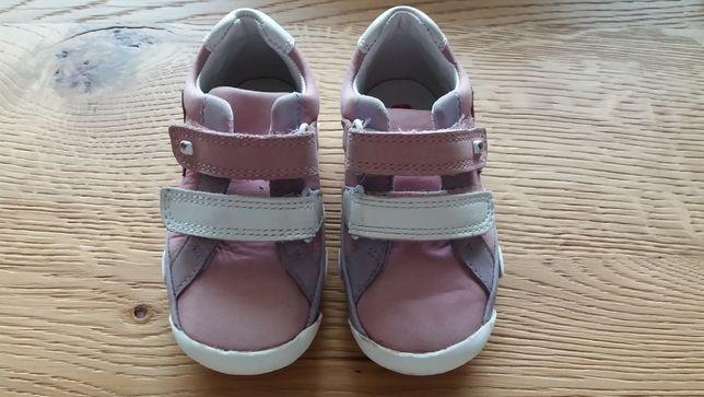 Elefanten buty buciki dziewczęce rozmiar 20 zapinane na rzepy różowe
