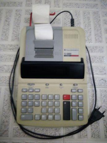 Máquina calcular secretária Texas Instruments