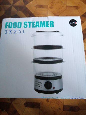 Nowy parowar parownik żywność na parze 3 kosze Howell food steamer