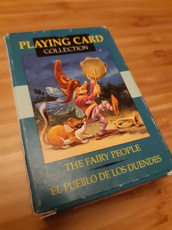 Lote de 2 baralhos de cartas fantasia