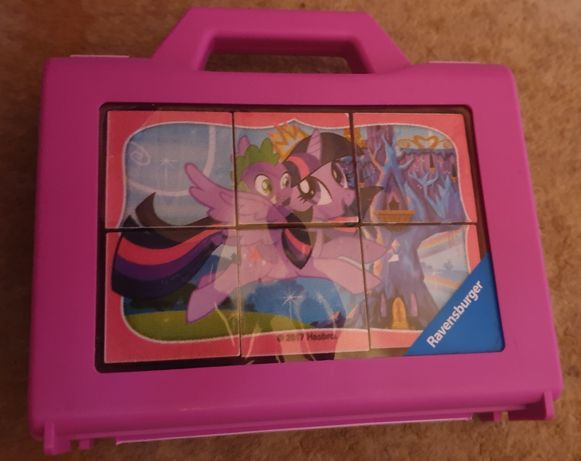 Ravensburger klocki puzzle My Little Pony 6 elementowe