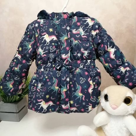 Куртка для дівчинки, демісезон 74-80 р, 9-12м