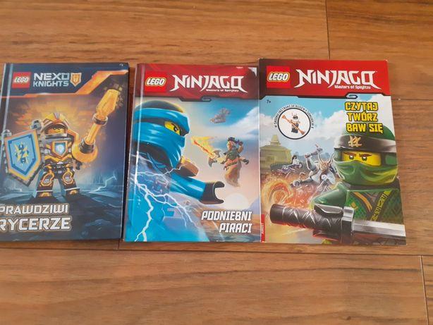Książki lego ninjago nexo knights