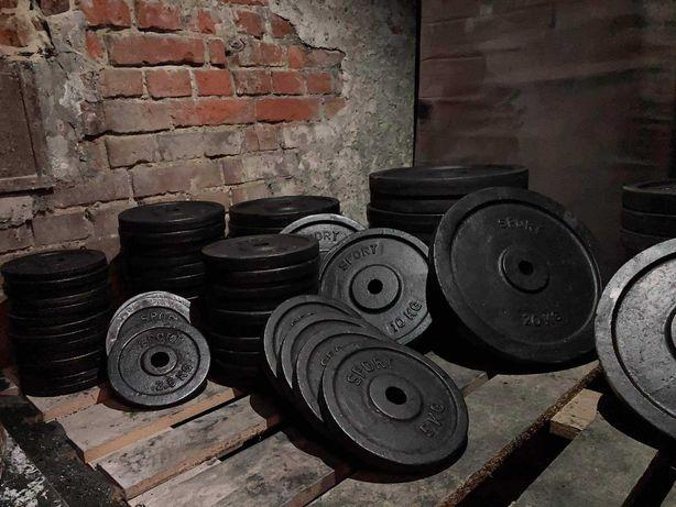 Obciążenie , Obciążenie żeliwne na siłownię NOWE, siłownia , talerze