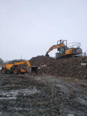 Rozbiórka rozbiórki budynków wyburzenia budynków wywóz gruzu