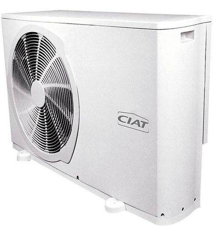Тепловий насос, опалення, охолодження, повітря-вода, воздух-вода