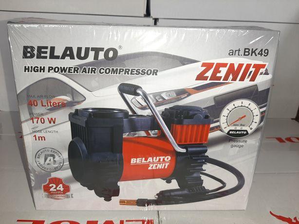 Автомобільний компресор Белавто Зенит Бк49 насос авто компрессор гаран