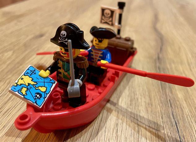 Lego piraci łódka